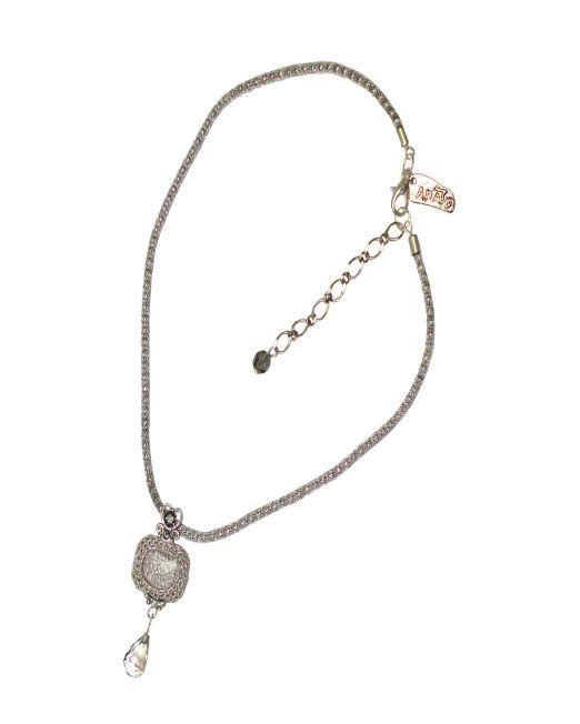 Designer's Crystal Pendant Necklace III | Melani di moda
