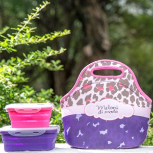 neoprene lunch bag set