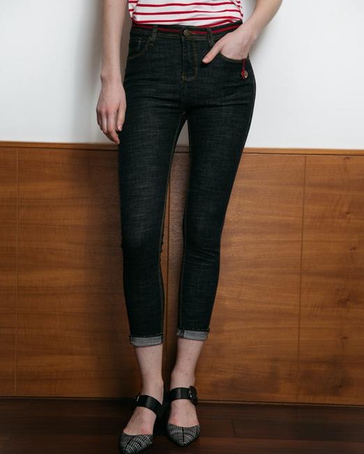 MLN Jeans Mid Waist Skinny Jeans | Melani di moda