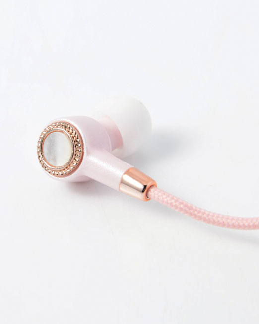 JUST JAMES AMPERES PINK WIRELESS EARPHONES